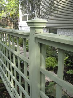 Residential Fence Detail