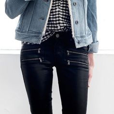 "- ""I expect to see a lot of cropped denim in 2016, from high-rise, straight leg silhouettes to slim flares. When it comes to trends, I believe fashion details will lie in modernizing a basic 5-pocket jean, such as new exposed-zipper details along with freshened-up hardware to give your denim a new look."""