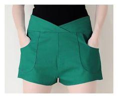 Resultado de imagem para shorts de tecido cintura alta 2016