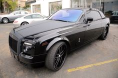 rools royce full black