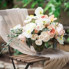 #Throwbackthursday to yesterday's styled shoot with an indefinite dose of #springtime #weddinginspiration!  How gorgeous are these blooms by @Whitemagnoliadesigns? See more on the blog.  Captured by @emsaccophoto Styling by @witweddings Dress by @Lauredesagazan Rentals by @12thtable Hair and MUA @lora_kelley @emilytucker_hmua #thelittleworkshop for @michaelandcarina  #thatsdarling #thehappynow #tbt #abmlifeiscolorful #weddingdetails #abmlifeisbeautiful #floralinspiration #thehappynow…