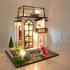 Consumers First encounter In Time And Space Glass Shell Miniature Diy House Kit Creative Miniature Festival Birthday Gift