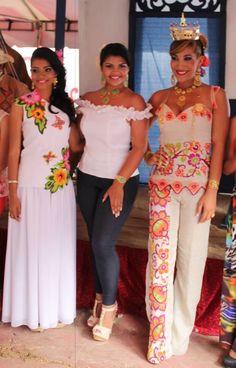 diseños vestidos estilizados panameños - Buscar con Google