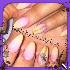 #acrylicnails #beautyboxmansfield #ombrenails