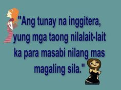Inggitera Quotes : Panlalait | Papansin Kaba? Tagalog Quotes Patama, Memes Tagalog, Pinoy Quotes, Truth Quotes, Qoutes, Love Quotes, Hugot Lines, Family Problems, Blessed Quotes