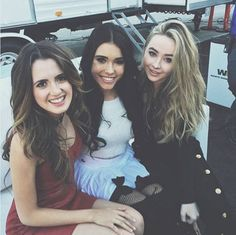 Laura Marano, Madison Beer and Sabrina Carpenter
