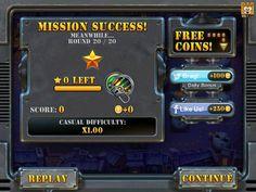 Q版塔防《坚守阵地2》UI游戏界面