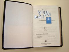 Soul Care Bible - Tim Clinton (Clinton is the lecturer for my counseling courses - love his lectures and he highly recommends this book, obviously)