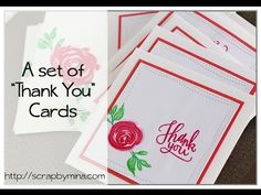 (65)Thank you {cards} using The Misti Tool
