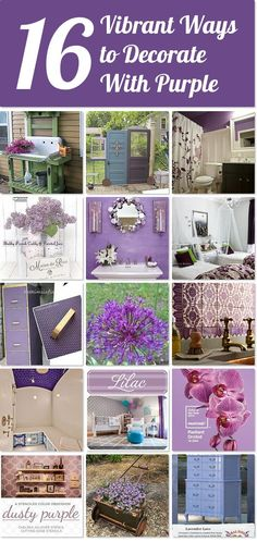 20 Ideas For People Who Absolutely LOVE Purple | Hometalk
