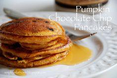Simple Girl: Easy Pumpkin Chocolate Chip Pancakes