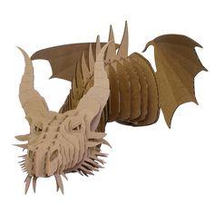 Faux Taxidermy - The Dragon Nikita makes incredible wall decor