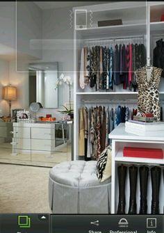 Spare bedroom Closet idea