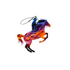 """Fire lasso"" || Digital Media 2015 Artwork Inspired by Calgary Stampede.  Repin it cause you're rad.  #digital media #art #creativity #design #cowboy #lasso #calgarystampede Digital Media, Calgary, Original Artwork, Creativity, Fire, Inspired, The Originals, Inspiration, Design"