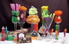 monster mash parties | Halloween Candy Buffet Ideas