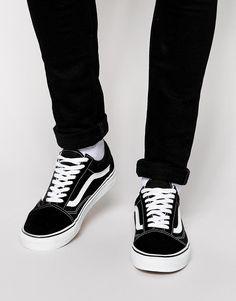 Vans - Old Skool - Baskets Lit Shoes, Keds Shoes, Shoes Tennis, Vans Skate, Skate Shoes, Vans Old Skool Trainers, Asos Men, Tenis Vans, Old School Vans