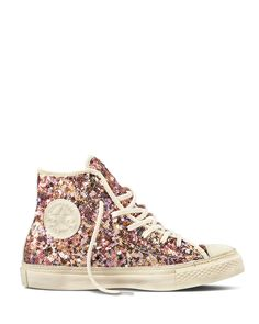 Converse Sneakers - Chuck Taylor All Star Premium Hi $100.00 (pretty much the only way I do sneakers is if they're covered in something metallic and/or glittery)