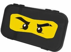LEGO Minifigure/Brick Storage Case - Black Ninjago (pencil case) by IRIS. $8.95. Fits minifigures, bricks, and more inside!. Ninjago graphics included on each case. Snap-tight closures secure contents. Molded-in dividers allow for separation of contents. Stores all of your minifigures in one place! Organize bricks by color, size, or set. Great for sorting and storing other small parts. Holds art and school supplies and so much more!