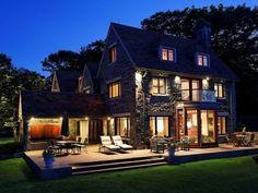 Exterior dream home (in Cape Elizabeth, Maine).