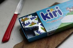 """Kiri """"Le fromage des gastronomes en culottes courtes"""" - It was a great slogan and campaign to launch a processed cream cheese in France in the mid/late 60s"""