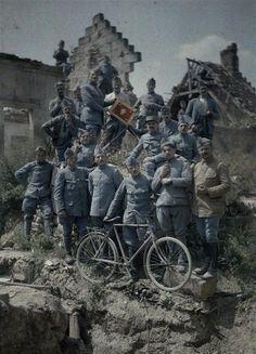 Autochromes de la guerre 1914-1918, département de l'Aisne  Auteur :  Cuville Fernand (1887-1927)