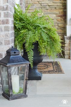 Spring in Full Swing: A Southern Rocking Chair Front Porch - Kelley Nan