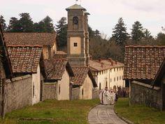 Eremo di Camaldoli, Toscana.