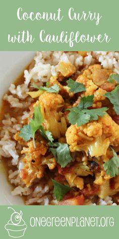 Coconut Curry With Cauliflower [Vegan] @iamrunner http://www.onegreenplanet.org/vegan-recipe/coconut-curry-with-cauliflower/ #eatfortheplanet #vegan #veganshare #vegansofig #plantbased #plantpower #healthy #eatclean #yum #foodporn #food #veganfoodporn #veganfood #vegancooking #veggieinspired #plantbasedcooking #plantbased #veg #eatgreen #eatclean #veganfoodshare #meatfree #meatless #dairyfree #plantpower #whatveganseat