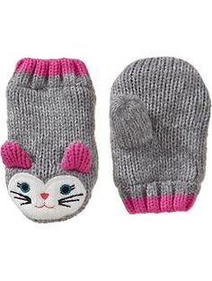 Kitten Mittens for Baby | Old Navy
