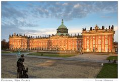 After breakfast, travel to Potsdam. Tour either Sanssouci Palace, a perfect example of German rococo architecture, or the nearby New Chambers—both built by Prussian King Frederick the Great in the 18th century.