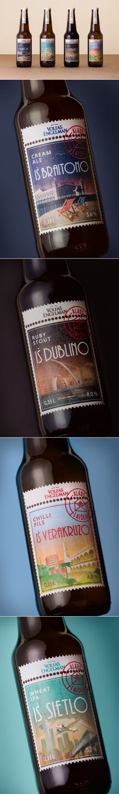 This Beer is Probably the Best Airmail You'll Ever See — The Dieline | Packaging & Branding Design & Innovation News
