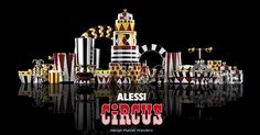 Alessi Circus Collection by Marcel Wanders (Photo Credit: Alessi/Marcel Wanders)