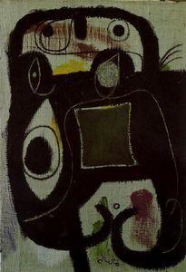 Mujer 1 - (Joan Miro)
