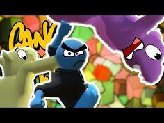 HANGING ON FOR DEAR LIFE!! | Gang Beasts w/ DanTDM, ThnxCya - YouTube