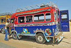 Car Rapide Community Transport, Dakar, Senegal