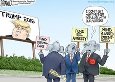 Trump Phenomenon: Love him or hate him, this cartoon is good as any - of an explanation for Trump phenomenon. Cartoon by A.F.Branco ©2015.