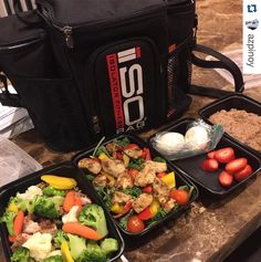 What's in your #mealprep today? #Repost @azpinoy with @repostapp.  Gotta step up the food prep game lol @jv00rhees @shelleygerodias @br3e23 @flipnfitness #teambeachbody #beachbody #bodybeast #isolatorfitness #mealprepmonday #transformation #food #foods #foodz #strawberry #fruit #foodporn #mealprepping #isobag #mealprepbag by isolatorfitness Go Check Out Our Website For More Isolator Fitness Bags! http://mealprepbags.com/product-category/isolator-fitness/