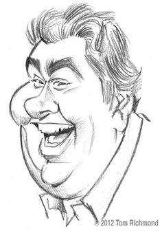John Candy  (by Tom Richmond)  Bless his heart - Make God Laugh, John ♥
