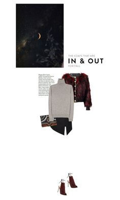 """In - Out"" by browneyez ❤ liked on Polyvore featuring Yves Saint Laurent, Balmain, ASOS, Jil Sander and Gianvito Rossi"