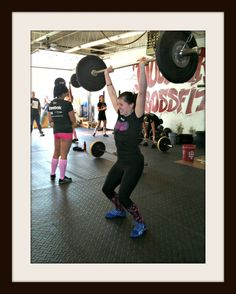 The early CrossFit days!