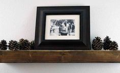 20 Rustic Wood Floating Shelf Rustic Shelf by MintageDesigns Rustic Wood Floating Shelves, Floating Wall Shelves, Wooden Shelves, Long Walls, Large Shelves, Rustic Nursery, A Table, Long Shelf, Enhancement Pills