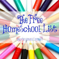 The FREE List: Homeschooling Links