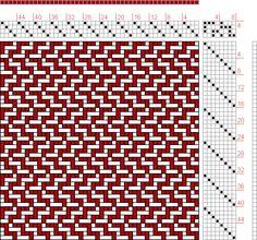 Figure 1326, A Handbook of Weaves by G. H. Oelsner, 4S, 8T - Handweaving.net Hand Weaving and Draft Archive