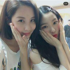 SNSD - SeoHyun IG Update With Red Velvet  Irene @ Red Room 1st Concert 우리의 해피니스 레벨이들❤ 예쁘고 귀엽고  멋지고 오구구 (주혀니즈는보너스)
