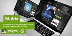 Matrix – Event Guest List WordPress Theme