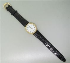 Raymond Weil Gold Plated Watch. Available @ hamptonauction.com at the Fine Vintage and Modern Watch Auction on September 29th, 2014! Come preview our catalog!