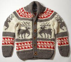 【カウチンセーター】カナダのバンクーバー島に住むカウチン族が作った「カウチンセーター」は動物がモチーフ、太めの毛糸でざっくり と編まれた感じが印象的ですね。 - Middle Edge(ミドルエッジ)