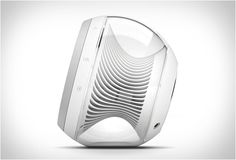 The new Nova speakers from Harman Kardon deliver both style and substance. Besides astounding looks, Harman Kardon Nova wireless speakers feature Bluetooth connectivity and deliver an impressive audio performance. Le Manoosh, Wireless Stereo Speakers, Audiophile, Architecture Design, Gadgets, Id Design, Design Concepts, Clean Design, Harman Kardon