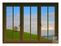 View from the Window at San Gimignano, Tuscany Giclee Print by Anna Siena at Art.com