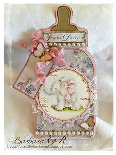 Cards by Barbara: Baby  card